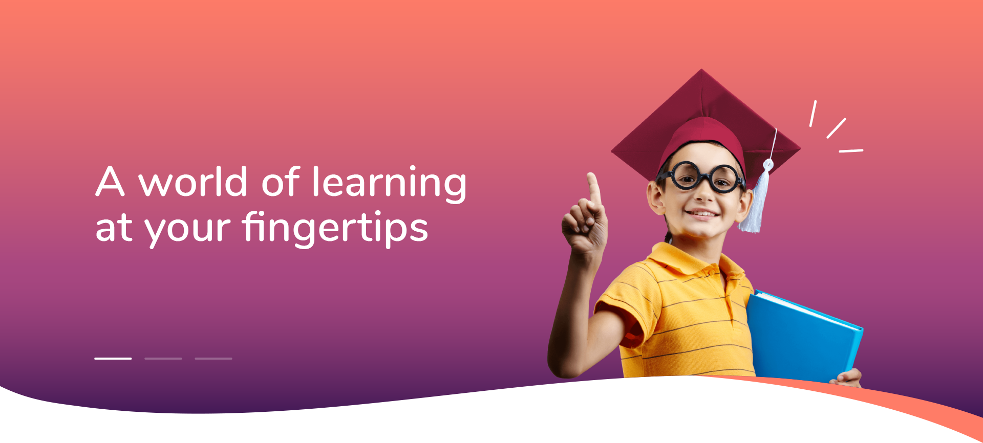 a world of learning at your fingertips